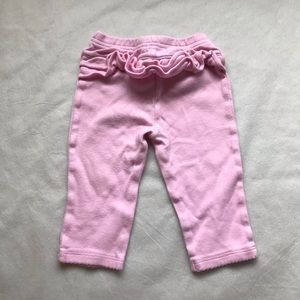 5/$25 CHILD OF MINE by Carter's frilly pants